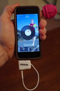 ithlete finger sensor